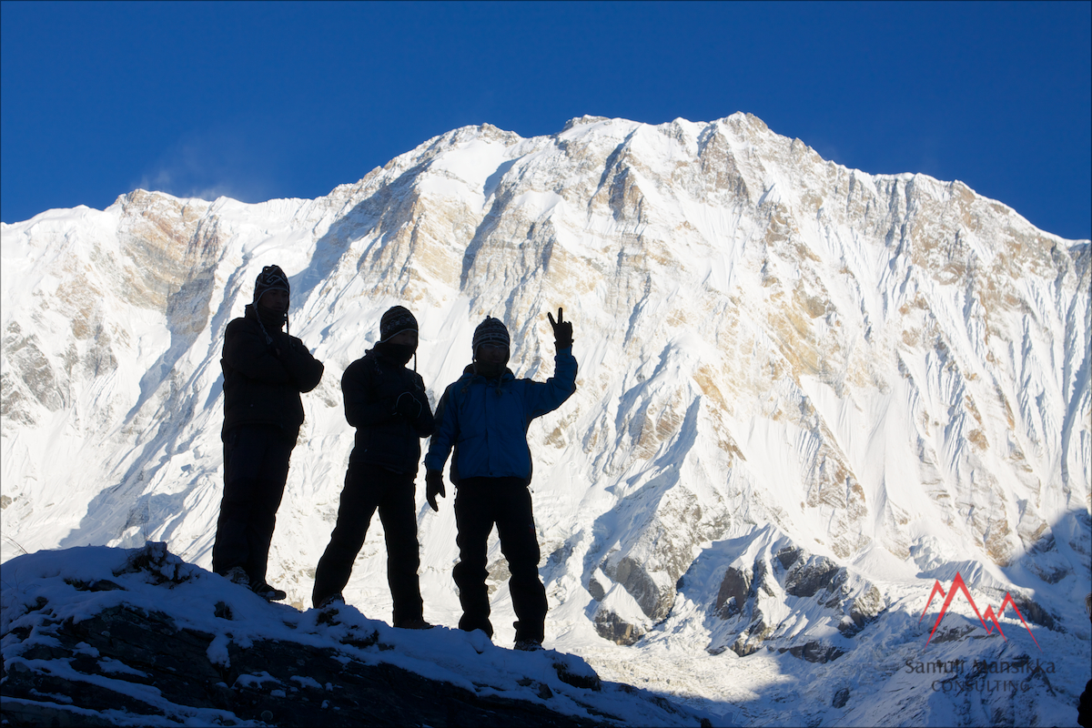 Annapurna BC Oct 24th 2013