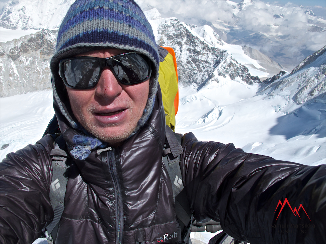 Samuli Mansikka Kangchenjunga 2014 Expedition